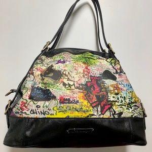 Rachel Roy graffiti satchel! Great condition!